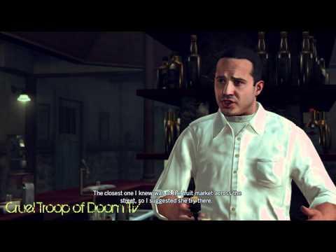 L.A. Noire: Perfect Interrogation - Diego Aguilar At ElDorado Bar [Silk Stocking Murder Case]