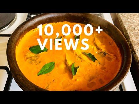 തേങ്ങ അരച്ച ആവോലി മീൻ കറി || Kerala Style Fish Curry With Coconut ||Pomfret Curry||DELICIOUS RECIPES
