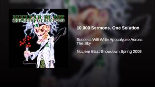 10.000 Sermons. One Solution