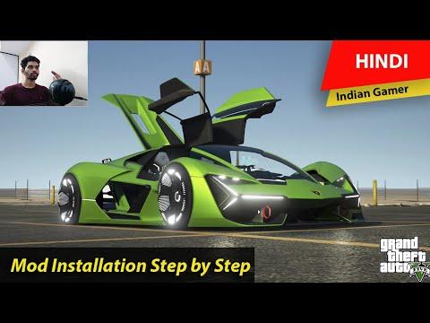 GTA 5 – How to Install Lamborghini Terzo Electric Mod Step by Step Guide | Hindi