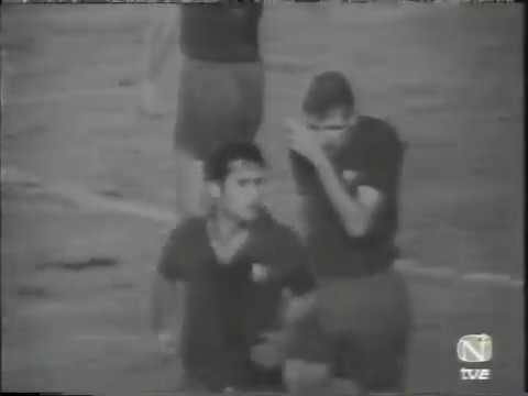Real M - Barcelona. La Liga-1969/70 (3-3)