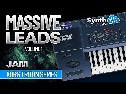 MASSIVE LEADS - KORG TRITON Synthcloud Library jamming by Georgios Zaimis