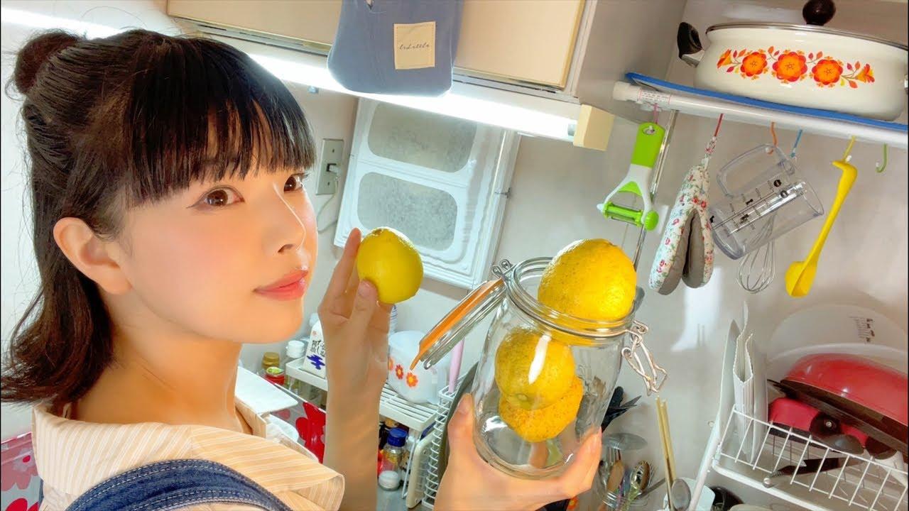 すごく頑張った日〜はちみつレモンを漬けながら、バナナジュースで私を癒す〜