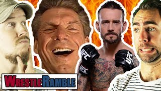 Did WWE SCREW With CM Punk UFC Fight?! New Japan Dominion Predictions! | WrestleRamble