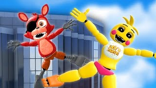 throwing fnaf animatronics off more skyscrapers gmod fnaf sandbox funny moments garry s mod