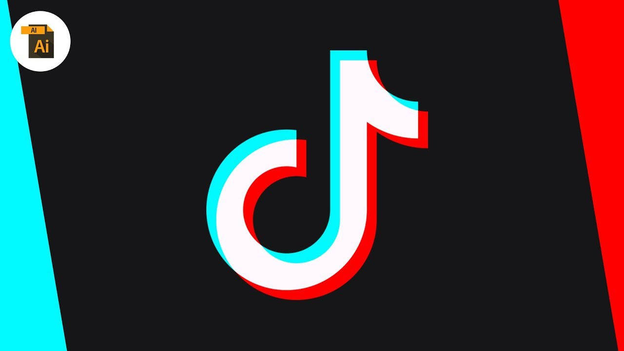 Illustrator Blend Modes Are Awesome Tik Tok Logo Youtube