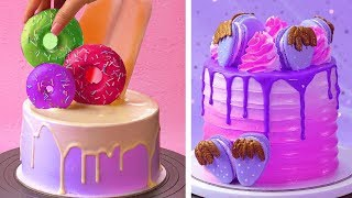 Top 10 Birthday Cake Decorating Ideas | Most Satisfying Cake Decorating Tutorials | Tasty Plus