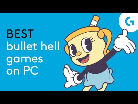 Best  Bullet Hell Games On PC