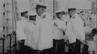 Балтийский флот Российской Империи. Кинохроника начала XX века