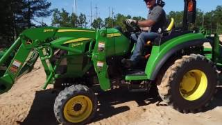 New 2015 John Deere 2 Family 2032R Compact Tractor For Sale in Florida