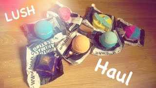 LUSH haul - bath bombs & bubble bars