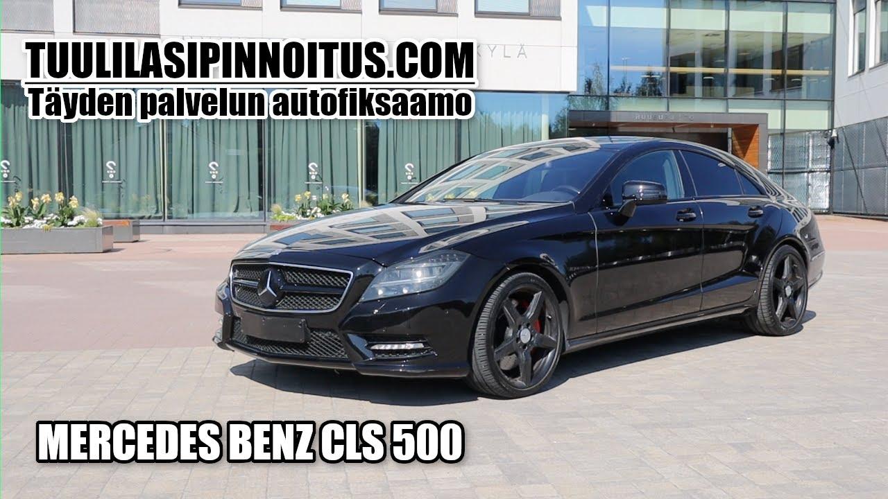 Mercedes-benz cls 500 | auton maalipinnan kiilotus ja keraaminen pinnoitus | Stardust pcs 5 | Myntsä