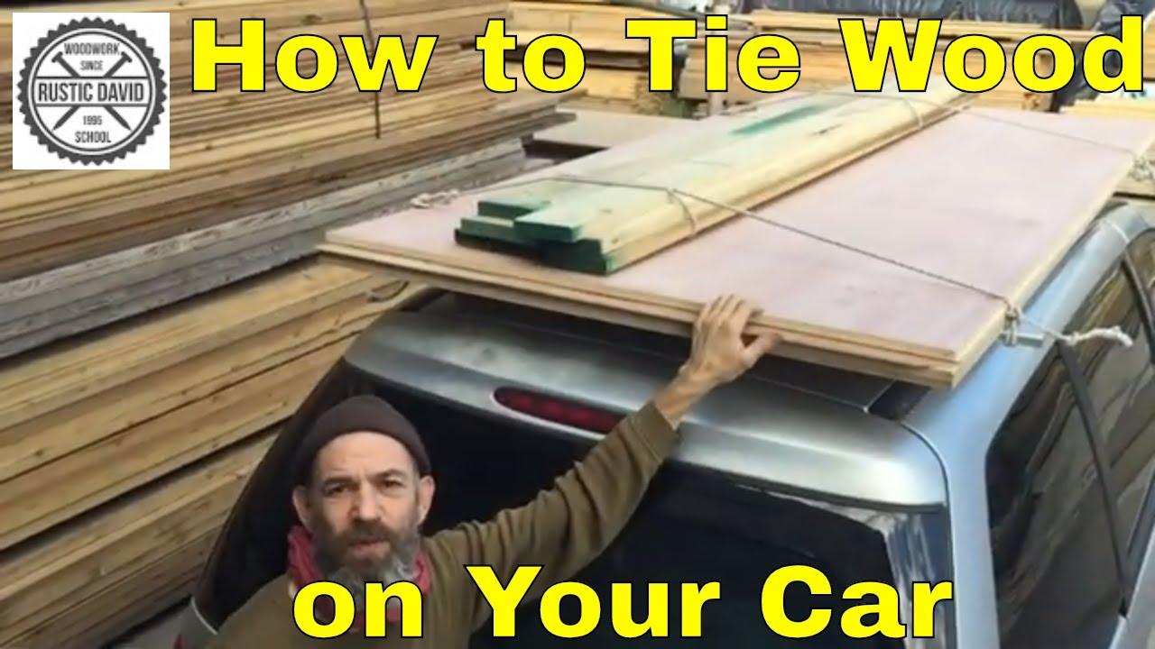 Plywood On Roof Rack