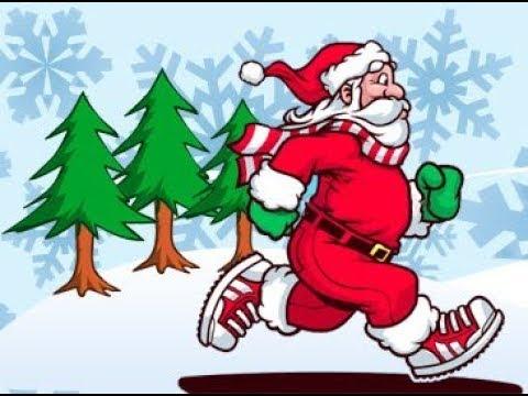 SANTA CANT DRIVE! | Christmas race! |