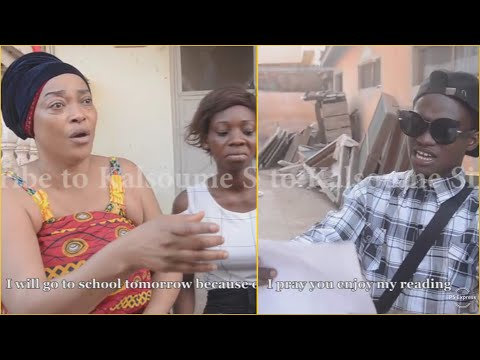 "KALSOUME Tells SHOWBOY ""Education is Very Important""😂😂😂(Kalsoume Sinare Funny Movie Clip)"