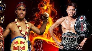 រឿង សោភ័ណ្ឌ Vs សុីងមុន្នី, Roeung Sophorn, Cambodia Vs Singmanee, Thai, Khmer Boxing 23 Feb 2019