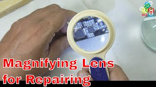 LJ 009 Magnifying Lens for Jewelries, currency, Mobiles, Electronics Repairs etc...