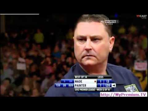 kevin painter 120 checkout 2012 premier league darts week 12