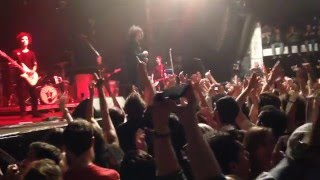 at the drive in one armed scissor live at razzmatazz barcelona 2016
