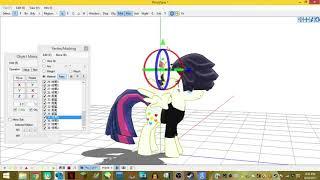 MMD Speed Edit of Songbird Serenade from My Little Pony Movie