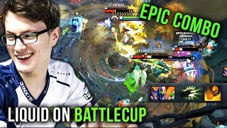 Full Team Liquid on Battlecup EPIC Series and EPIC Combos - Dota 2