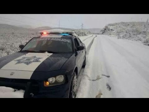 Nevada Sorprende a Transportistas en Nuevo León...🔘✔