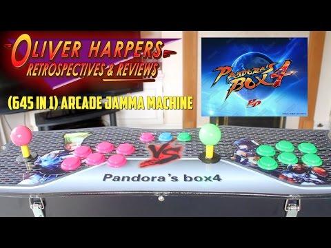 (645 in 1) Arcade JAMMA Machine - Pandora
