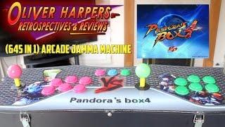 Video (645 in 1) Arcade JAMMA Machine - Pandora's Box 4 Review download MP3, 3GP, MP4, WEBM, AVI, FLV Oktober 2017