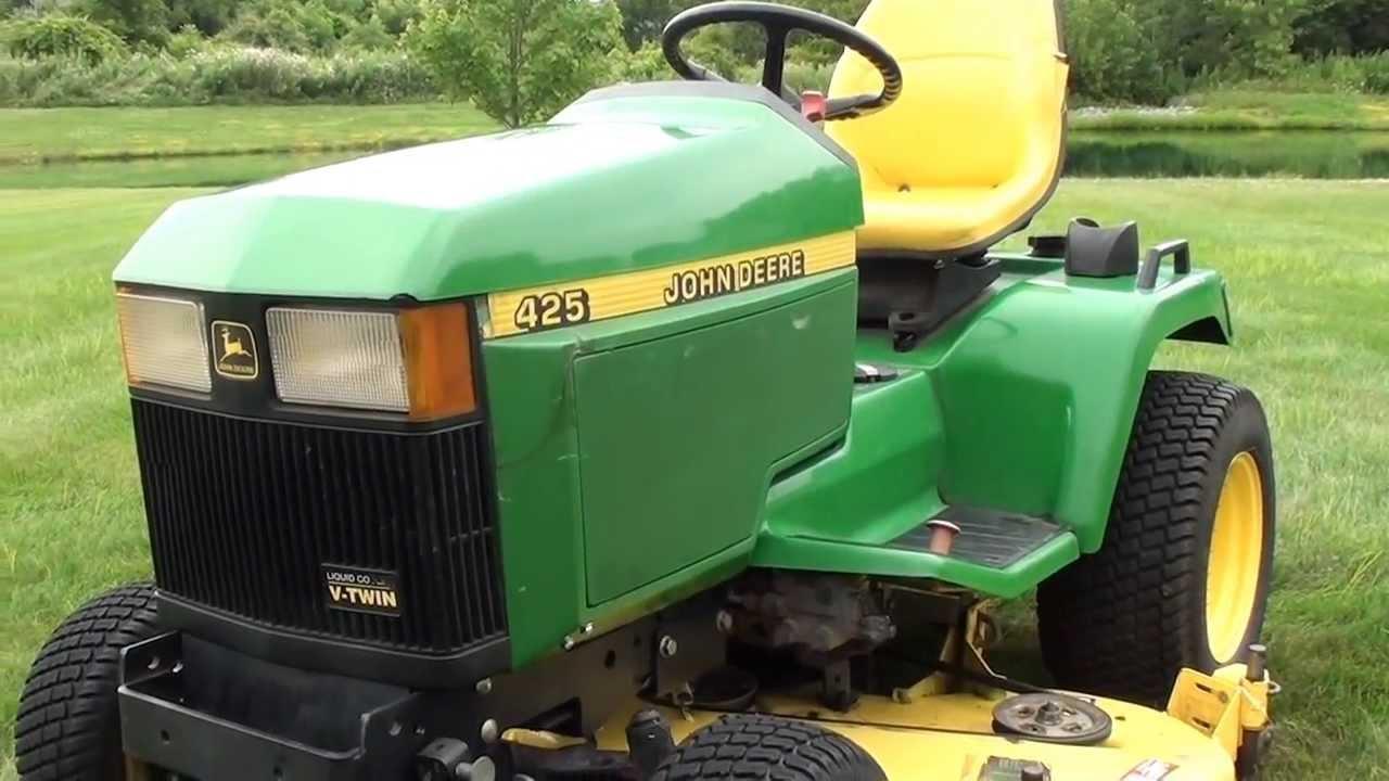 Großartig John Deere 425 Traktor Schaltpläne Bilder - Der ...