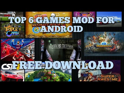 🔥UPDATE 6 BEST GAMES MOD NOV 2019 FREE DOWNLOAD FOR ANDROID