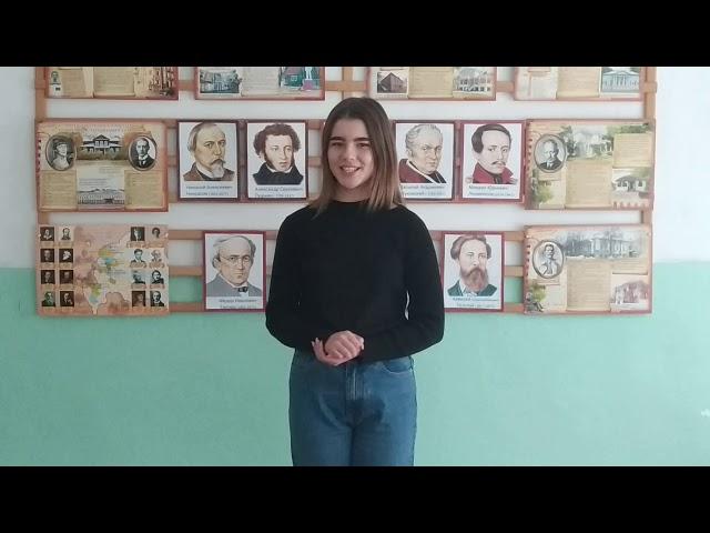Изображение предпросмотра прочтения – АнжеликаМокрова читает произведение «Я бы хотела жить с вами в маленьком городе» М.И.Цветаевой