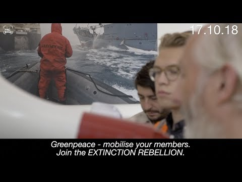 Extinction Rebellion occupy Greenpeace HQ