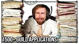 Asmongold Overwhelmed By More Than 1500 Guild Applications For His New Classic WoW Guild