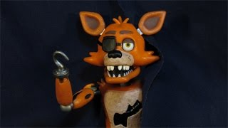 five nights at freddy s foxy action figure funko fnaf toy review