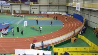 Чемпіонат України у приміщенні, фінальний забіг на 400 метрів, чоловіки.