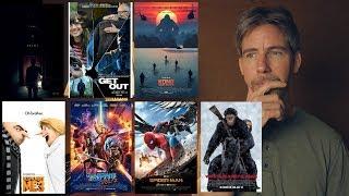 2017 Mid-year Movie Roundup (Spoilers)
