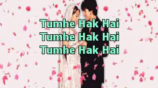 Mujhe Haq Hai VivahHIndi Karaoke Latest YouTube