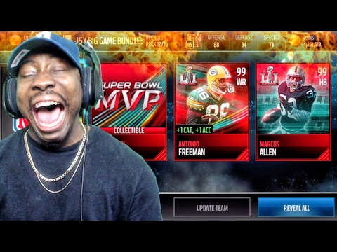 SUPER BOWL 51 BIG GAME PACK OPENING! Madden Mobile 17 Gameplay Ep. 22