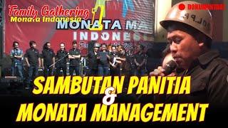 SAMBUTAN PANITIA DAN MONATA MANAGEMENT DOKUMENTASI FGMMI Season 1 Monata Mania Indonesia