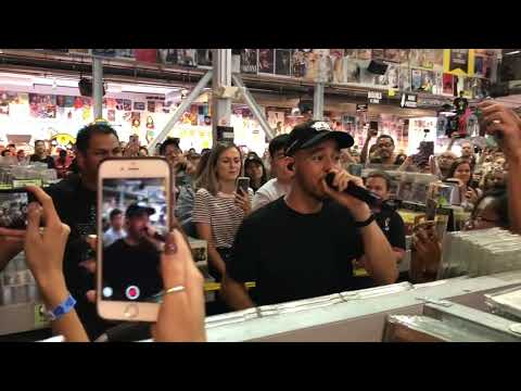 Running From My Shadow [Live Debut] - Mike Shinoda - Amoeba Music - Hollywood, CA