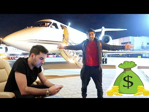 TRAVELLING WITH A BILLIONAIRE !!!