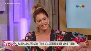 Karina Mazzocco reveló su más profundo secreto - Cortá por Lozano