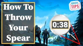 Valheim - How To Throw Your Spear