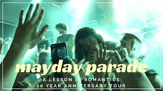 mayday parade a lesson in romantics 10 year anniversary tour