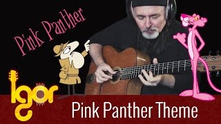 Pink Panther on guitar - Igor Presnyakov