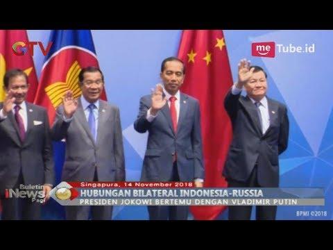 Jokowi Bahas Kerjasama Ekonomi dengan Vladimir Putin di Tengah KTT ASEAN -  BIP 15/11