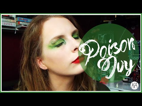 TUTORIAL || Poison Ivy [DC Comics] Inspired Makeup Look // kazzified29