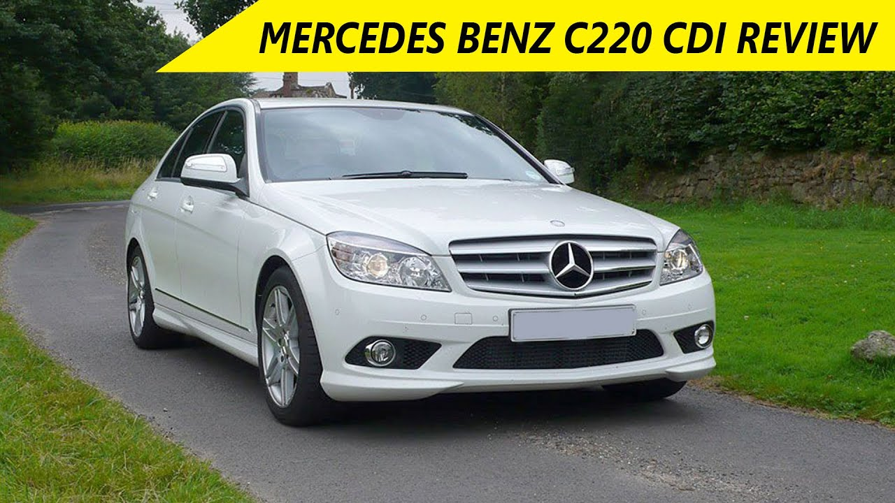 mercedes benz c220 cdi review auto gadget show. Black Bedroom Furniture Sets. Home Design Ideas