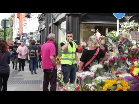 GETTING A JOB ON A DUBLIN FLOWER STAND - Prank Video