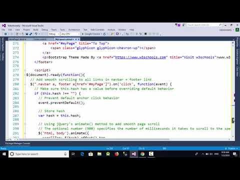 Change The Default Theme Of ASP.net MVC Project